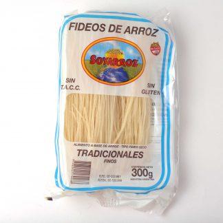 FIDEOS DE ARROZ FINOS 300GR SOYARROZ
