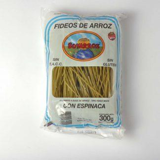 FIDEOS C/ESPINAC SOYARROZ 300G