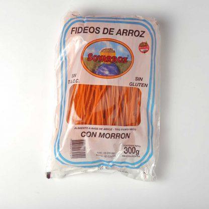 FIDEOS C/MORRÓN SOYARROZ 300GR.
