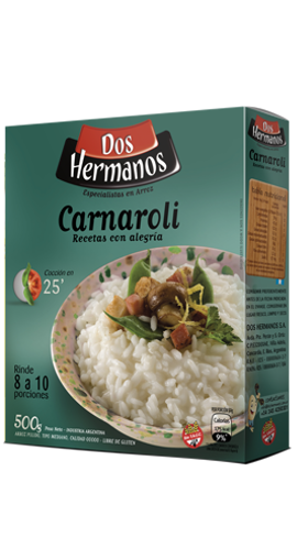 ARROZ CARNAROLI 500GR DOS HERMANOS