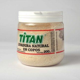 LEVADURA EN COPOS 200GR TITAN