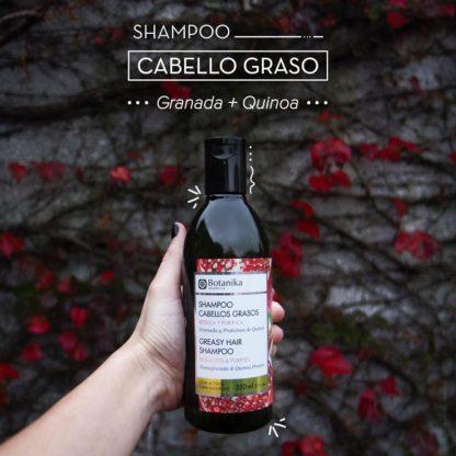 SHAMPOO CABELLOS GRASOS 350ML BOTANIKA
