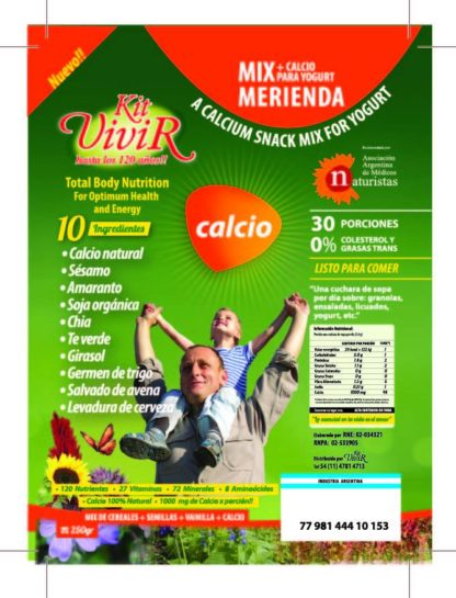 KIT VIVIR CALCIO 250GR