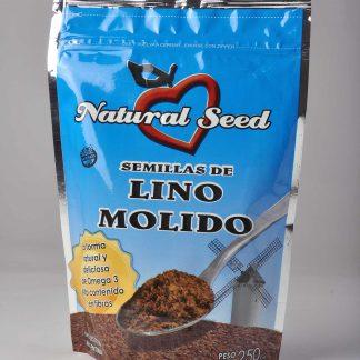 LINO MOLIDO 250GR NATURAL SEED