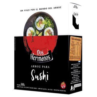 ARROZ SUSHI 500GR DOS HERMANOS