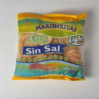 MARINERITAS LIGHT SIN SAL 200GR CERAL