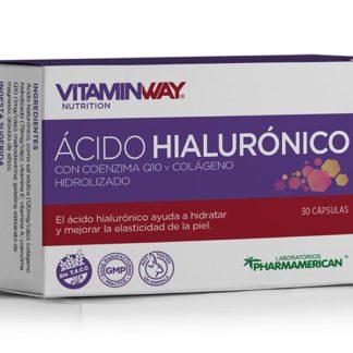 Ácido Hialurónico x 30 capsulas pharmamerican