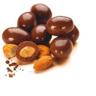 ALMENDRAS CON CHOCOLATE x 150 GRAMOS