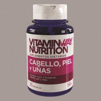 Cabello, Piel y uñas x 30 capsulas VitaminWay