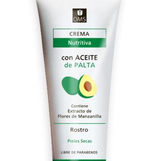 CREMA NUTRITIVA PARA EL ROSTRO CON ACEITE DE PALTA 90GR. OMS