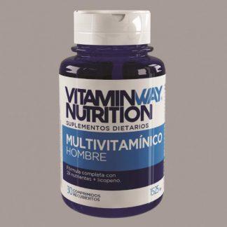 Multivitamínico Hombre x 30 capsulas VitaminWay