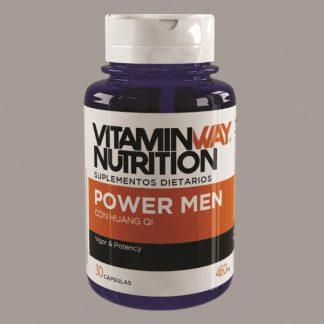 Power Men Con Huang Qi – Rendimiento Masculino X 30 Cápsulas VitaminWay