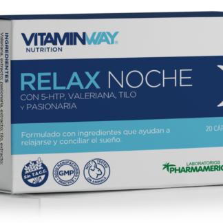 RELAX NOCHE 20 capsulas PHARMAMERICAN