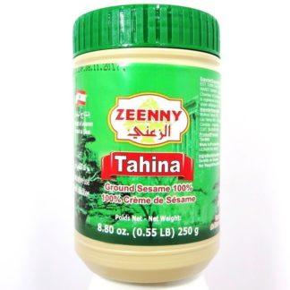 TAHINE PASTA DE SESAMO DEL LIBANO 250GR ZEENNY