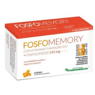 FOSFOMEMORY FOSFOLIPIDOS 145MG 30 CAPSULAS PHARMAMERICAN