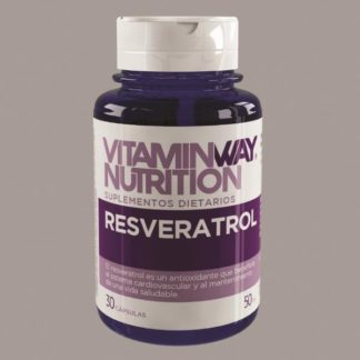 RESVERATROL ANTIOXIDANTE X 30 CAPSULAS VITAMINWAY