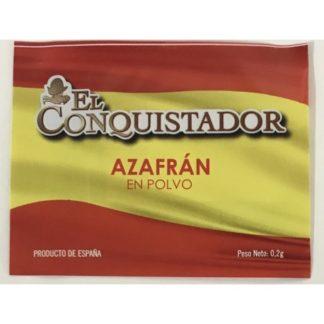 AZAFRÁN ESPAÑOL 0,2GR EL CONQUISTADOR