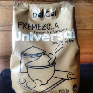 PREMEZCLA UNIVERSAL SIN GLUTEN 500GRS. DELICEL