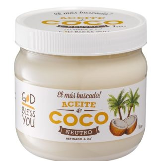 ACEITE DE COCO NEUTRO 1 LITRO GOD BLESS YOU