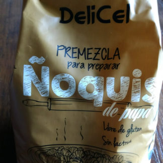 PREMEZCLA PARA ÑOQUIS 500G DELICEL