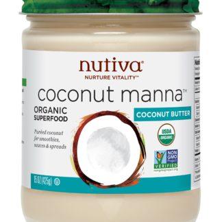 Manteca De Coco Orgánica 425ml NUTIVA