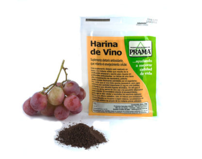 HARINA DE VINO (SUPLEMENTO ANTIOXIDANTE) 50GR PRAMA