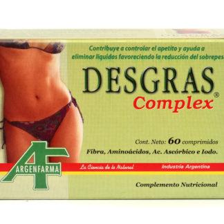 DESGRAS COMPLEX 60 CAP. ARGENFARMA