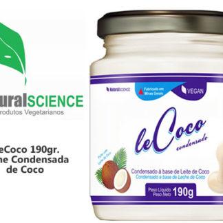 LECHE CONDENSADA DE COCO VEGANO 190GR LE COCO