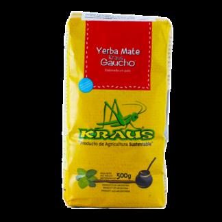 YERBA MATE GAUCHO 500GR KRAUS