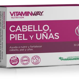Cabello, Piel y uñas x 30 capsulas Pharmamerican