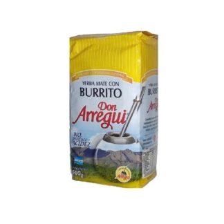 YERBA MATE CON BURRITO 500GR DON ARREGUI