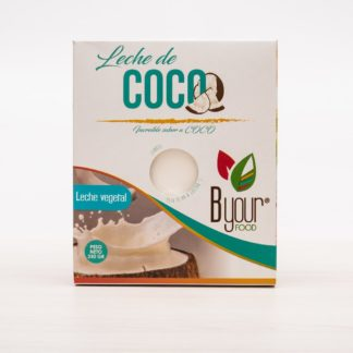 LECHE VEGETAL EN POLVO DE COCO 250gr BYOUR FOOD