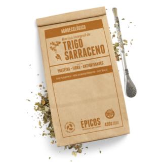 HARINA DE TRIGO SARRACENO 400grs. – EPICOS