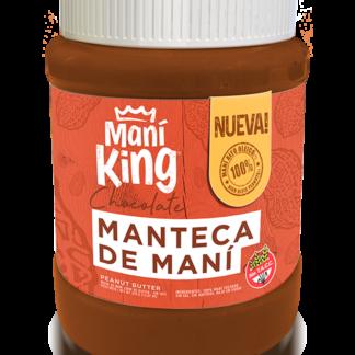MANTECA DE MANÍ CHOCOLATE 350grs. – MANÍ KING