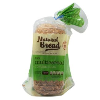 PAN LACTAL CON SEMILLAS 520grs. – NATURAL BREAD